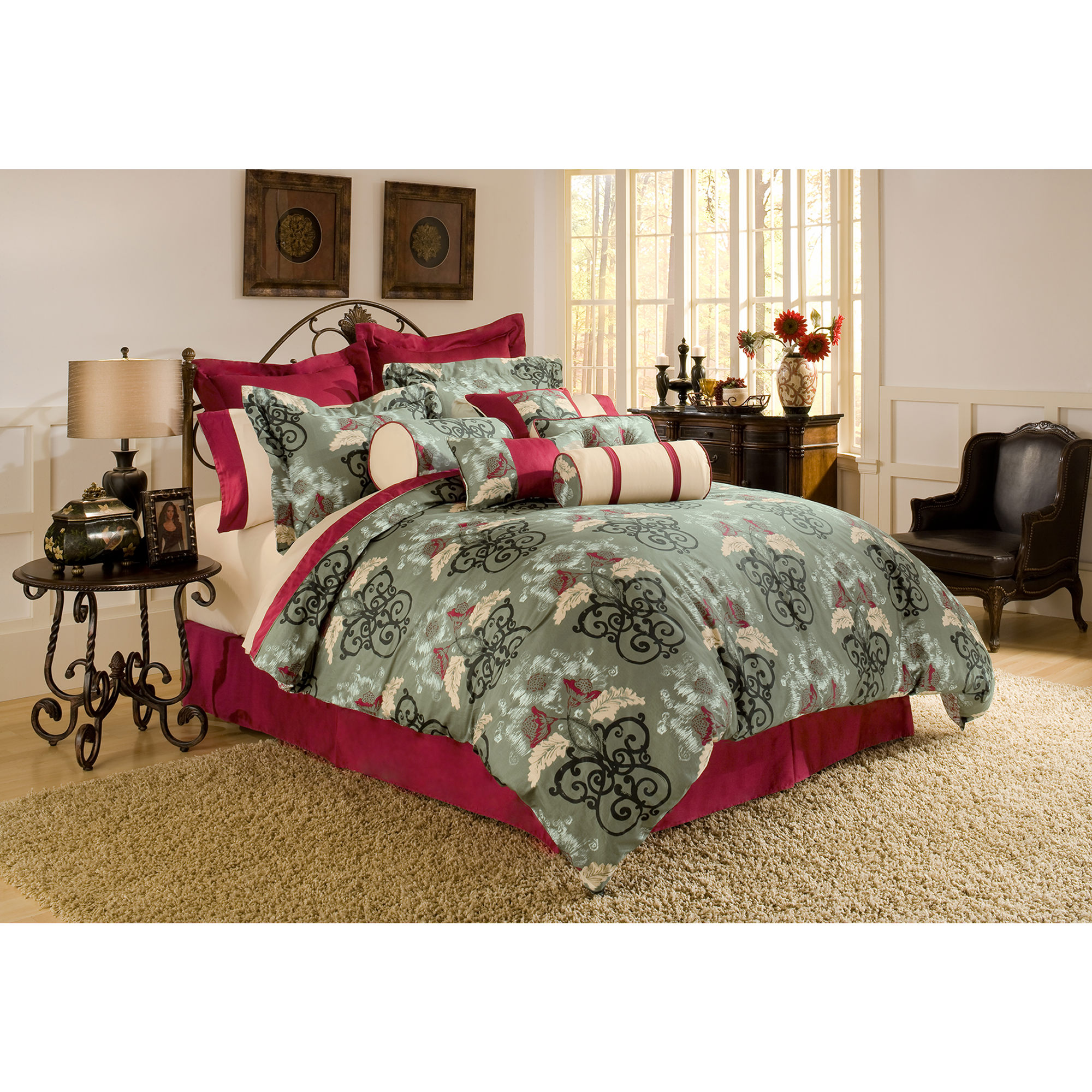 Inspiring king size quilts for modern bedroom design with king size quilt dimensions
