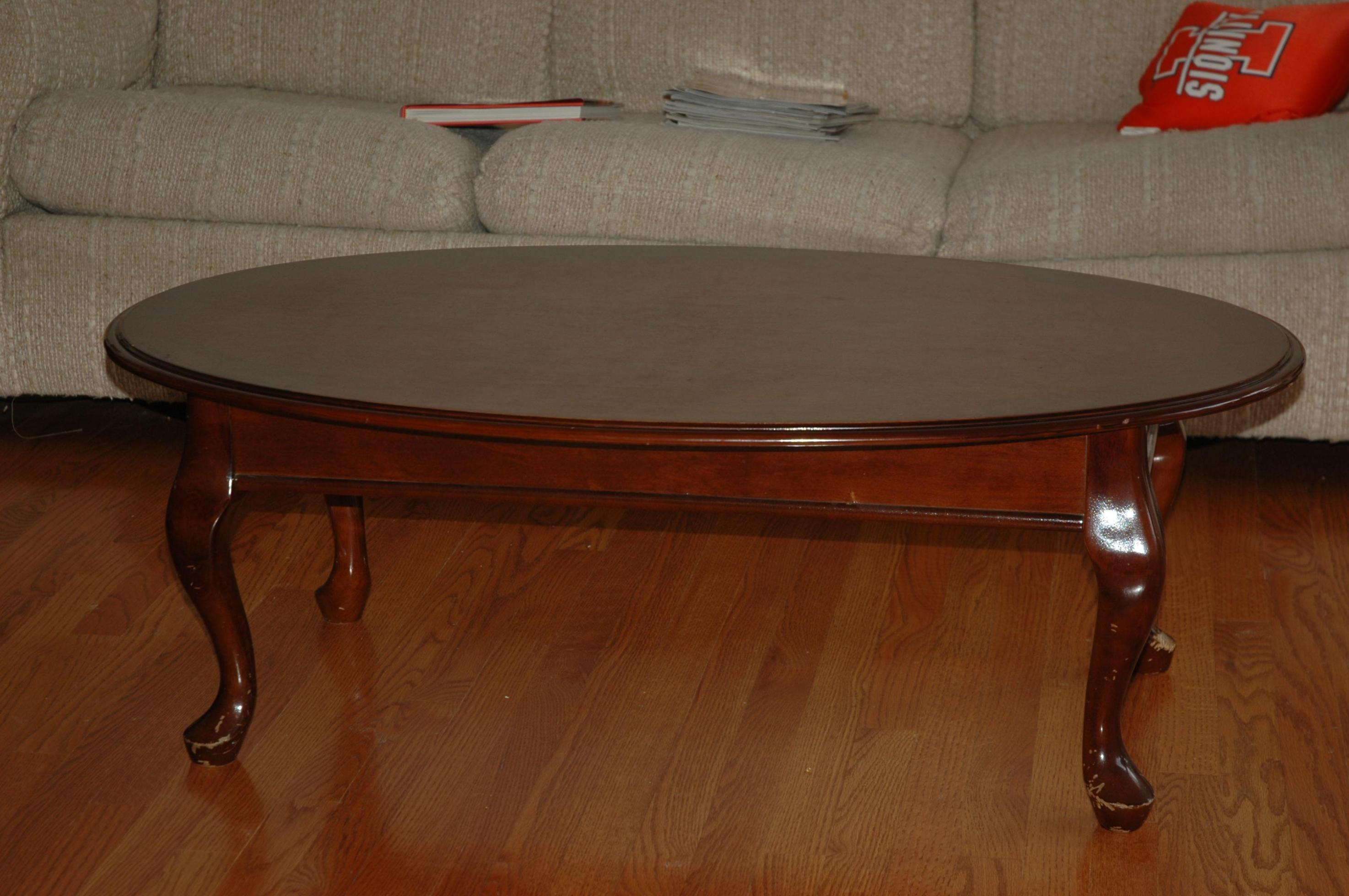 Inspiring oval coffee table for home furniture with oval wood coffee table