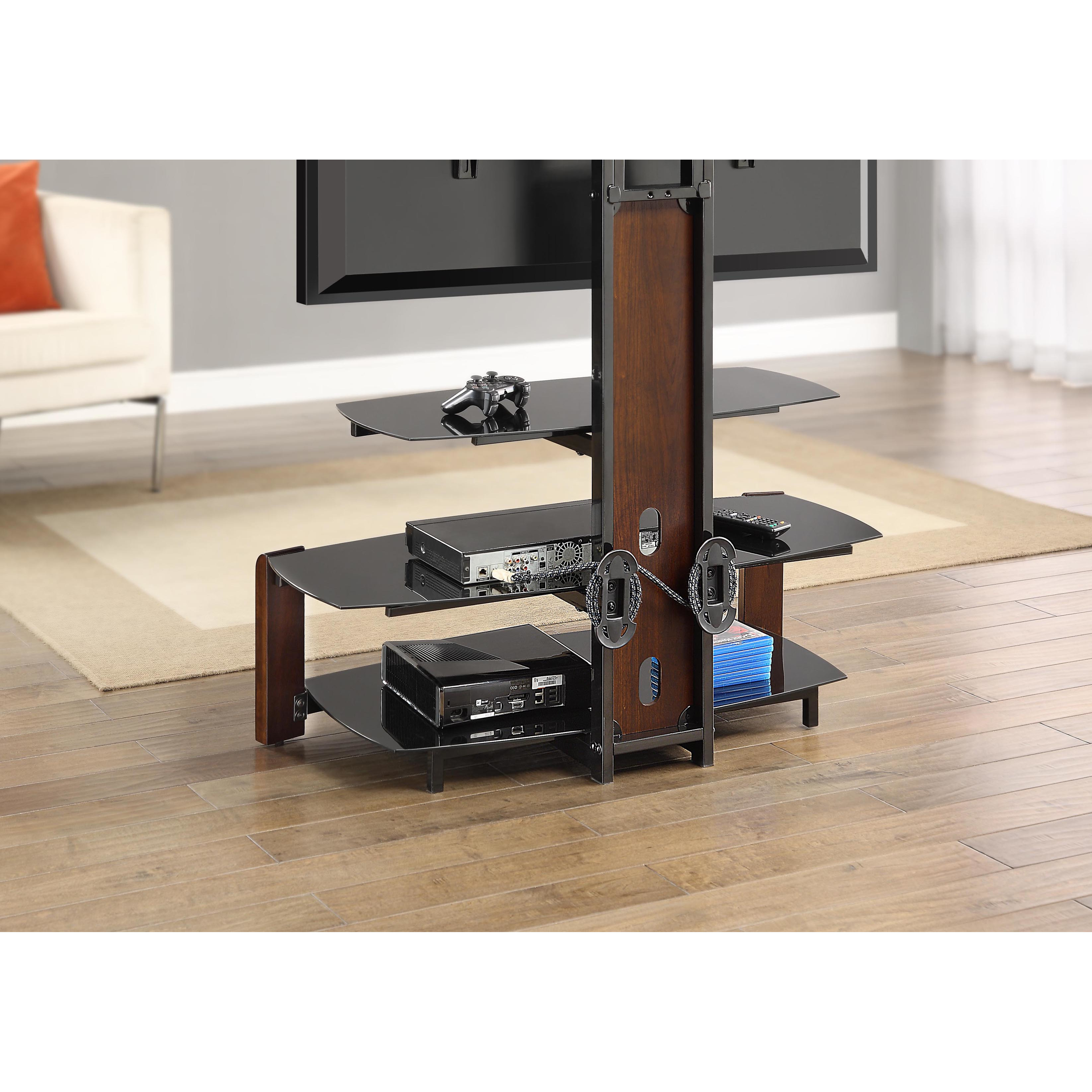 Inspiring whalen tv stand for furniture accessories design with whalen 3-in-1 tv stand