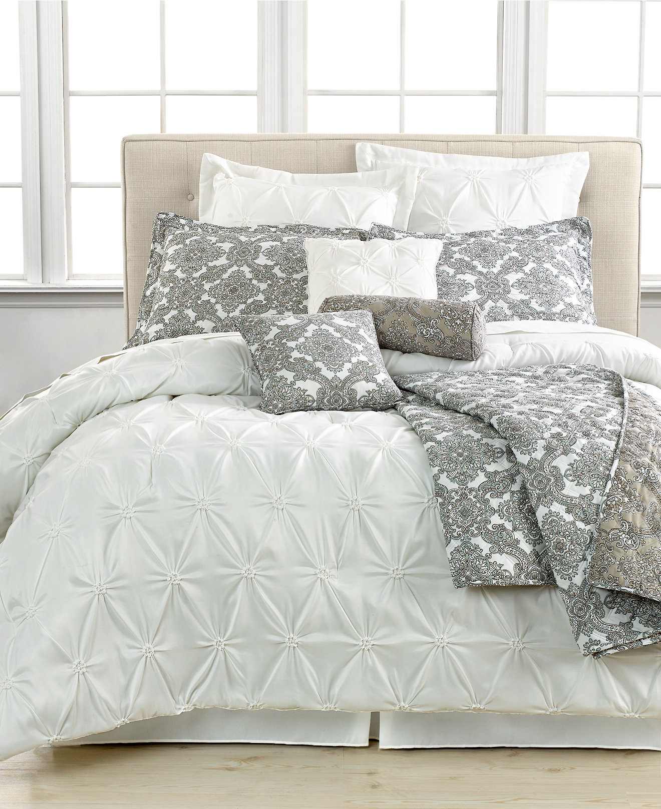 Inspiring white comforter sets for charming bedroom ideas with white comforter sets queen
