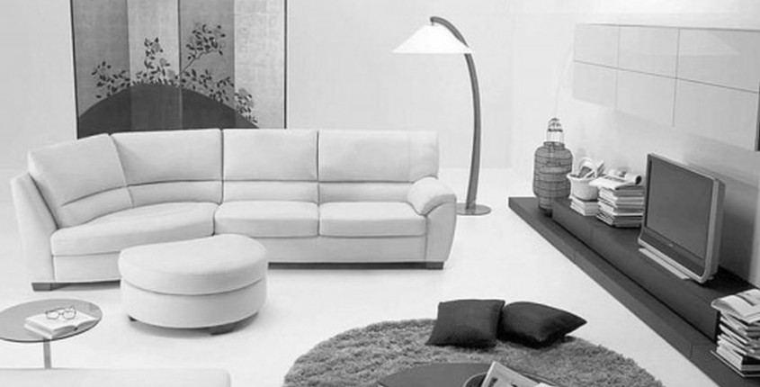 Inspiring White Leather Sectional For Living Room With White Leather Sectional Sofa