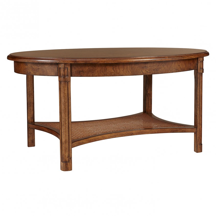 Interesting Oval Coffee Table For Home Furniture With Oval Wood Coffee Table