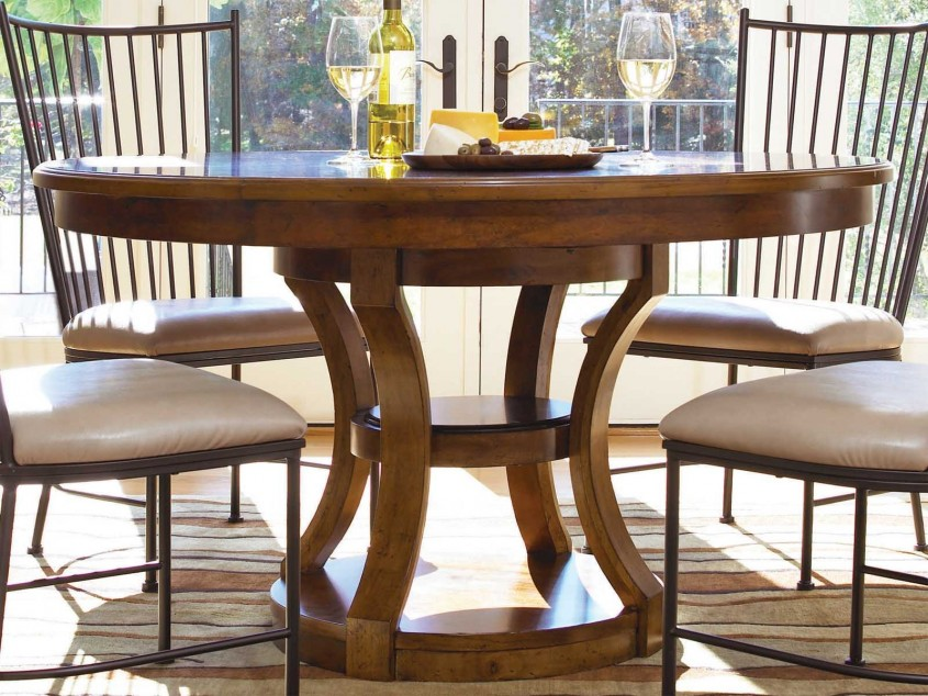 48 Inch Round Dining Table Is Also A Kind Of 48 Inch Round Pedestal Dining Table With Leaf