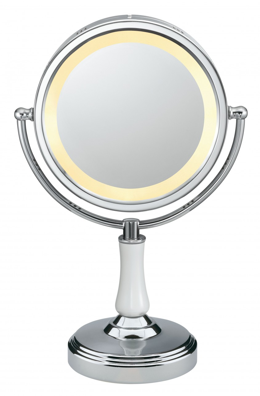 Lovable Conair Makeup Mirror For Furniture Accessories Ideas With Conair Double Sided Lighted Makeup Mirror