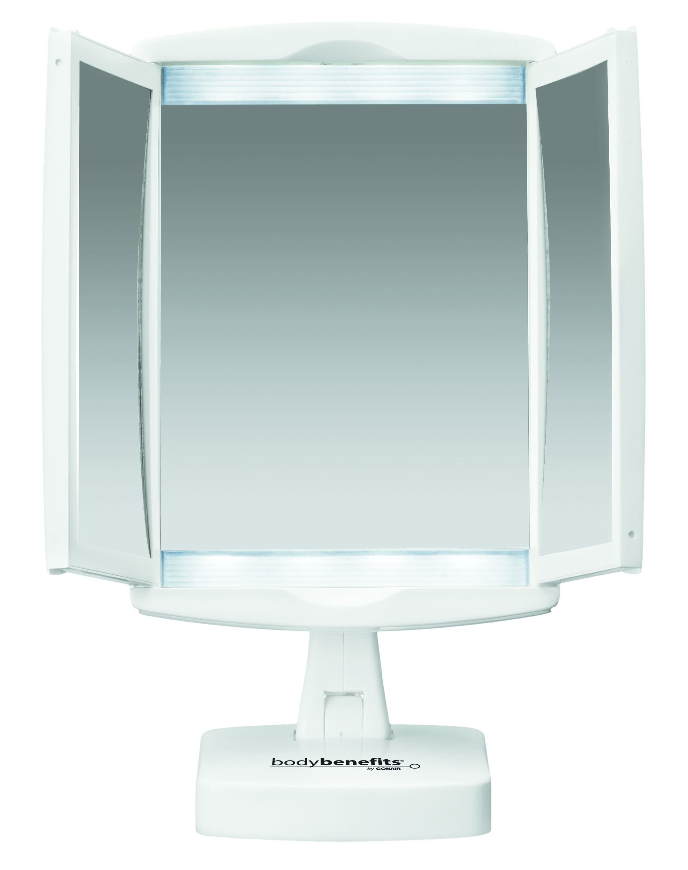 Magnificent conair makeup mirror for furniture accessories ideas with conair double-sided lighted makeup mirror
