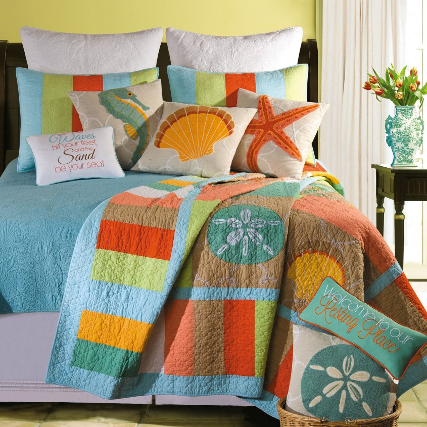 Marvellous King Size Quilts For Modern Bedroom Design With King Size Quilt Dimensions