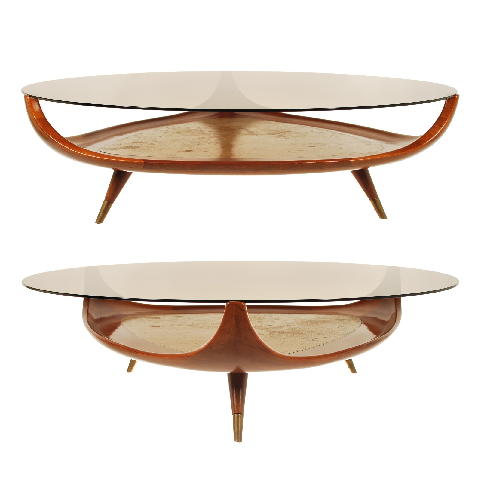 Marvellous oval coffee table for home furniture with oval glass coffee table