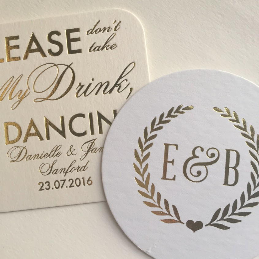 Marvellous Personalized Coasters For Furniture Accessories With Personalized Drink Coasters