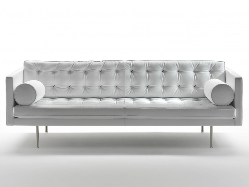 Marvellous Tufted Leather Sofa For Living Room Design With Tufted Leather Sectional Sofa