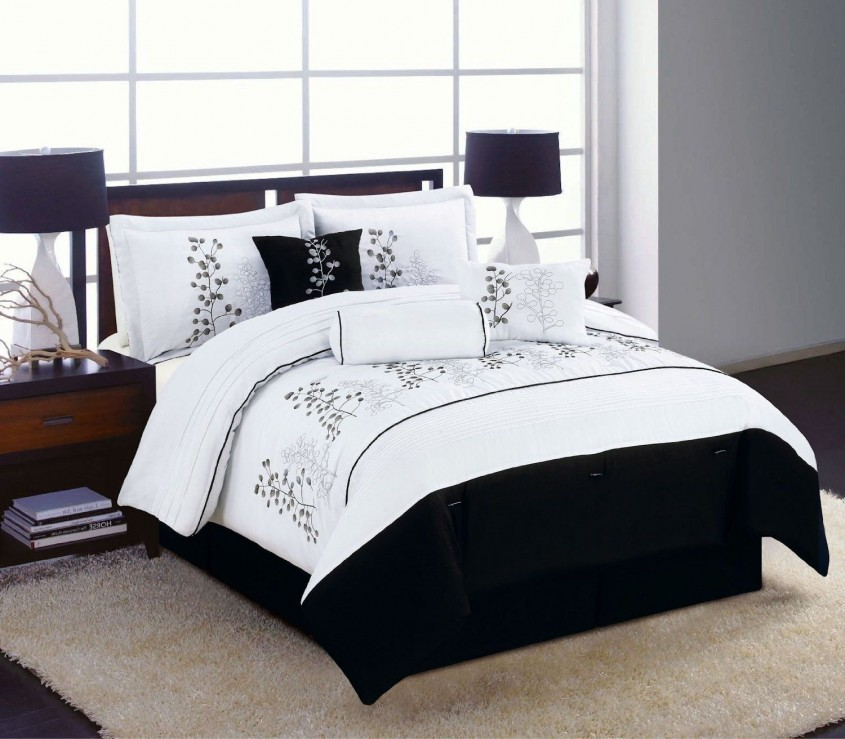Marvellous White Comforter Sets For Charming Bedroom Ideas With White Comforter Sets Queen