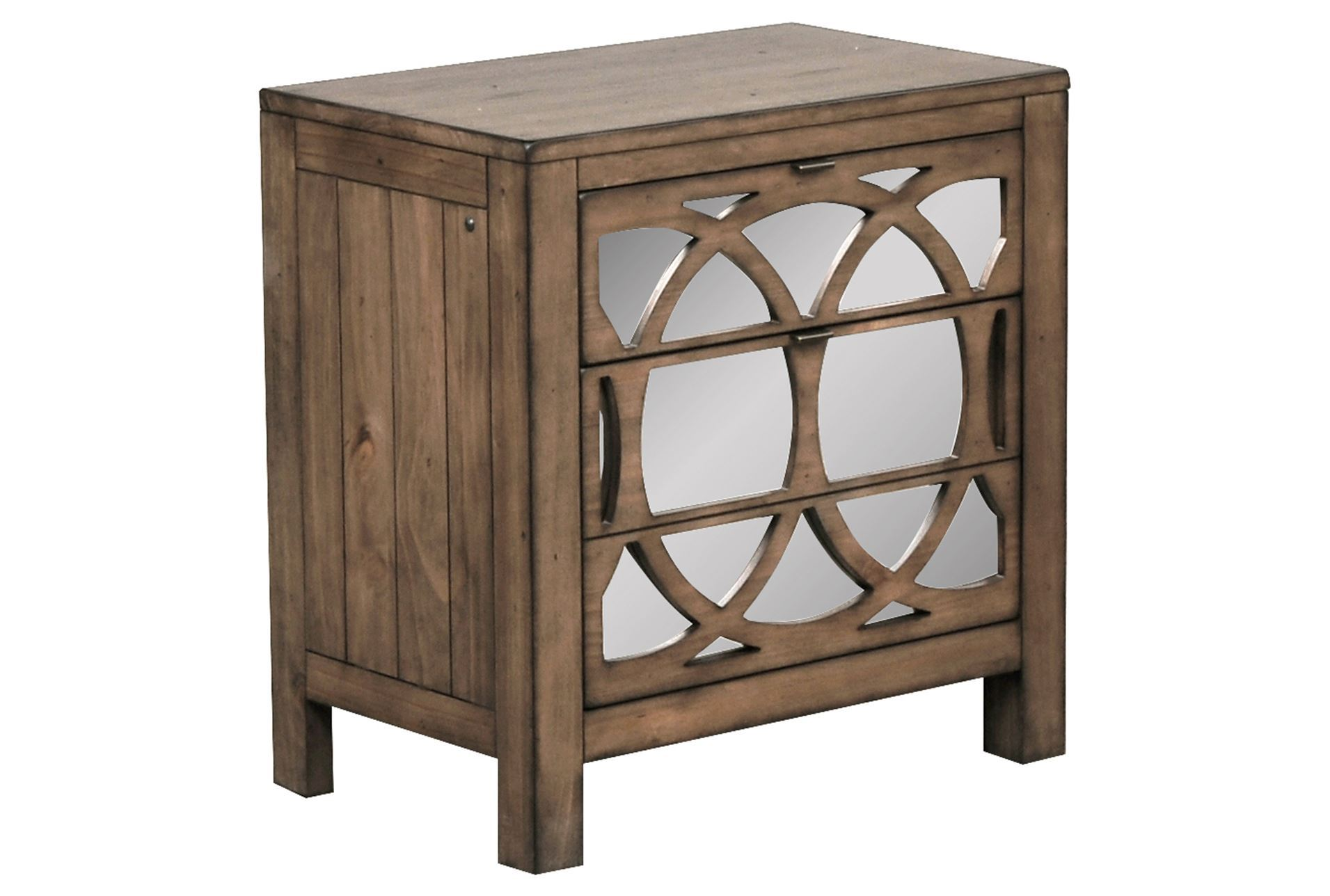 Mesmerizing mirror nightstand for bedroom furniture with mirrored nightstand