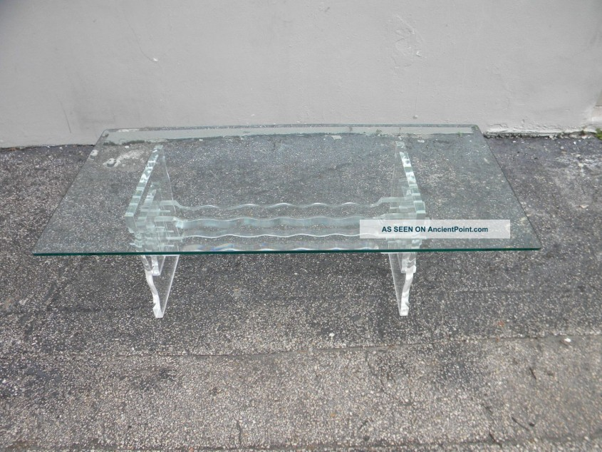 Nice Acrylic Coffee Table For Home Furniture With Clear Acrylic Coffee Table