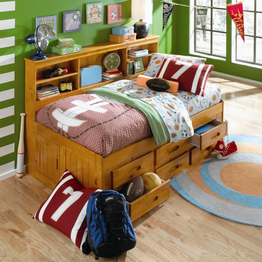 Nice Daybed With Storage For Small Bedroom Design With Full Size Daybed With Storage