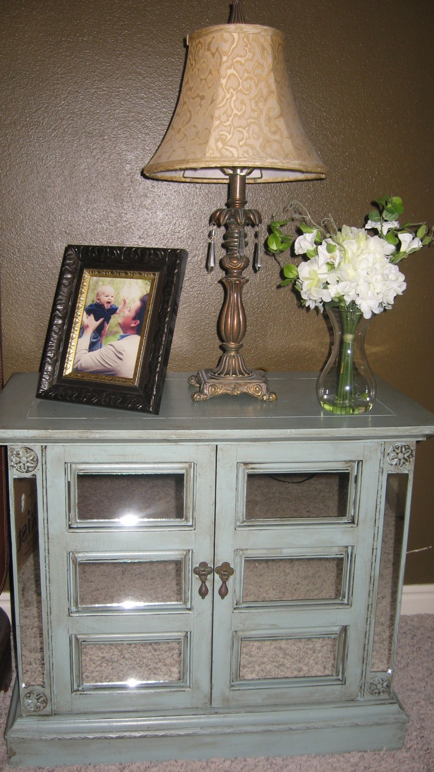 Nice Mirror Nightstand For Bedroom Furniture With Mirrored Nightstand
