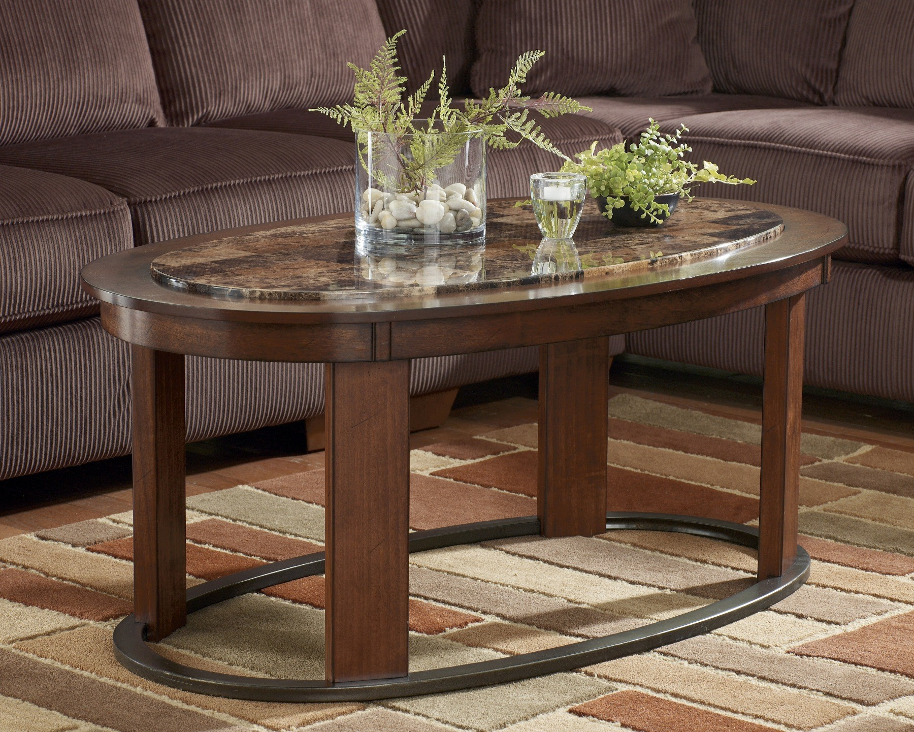 Living Room Design Amazing Oval Coffee Table For Home Furniture