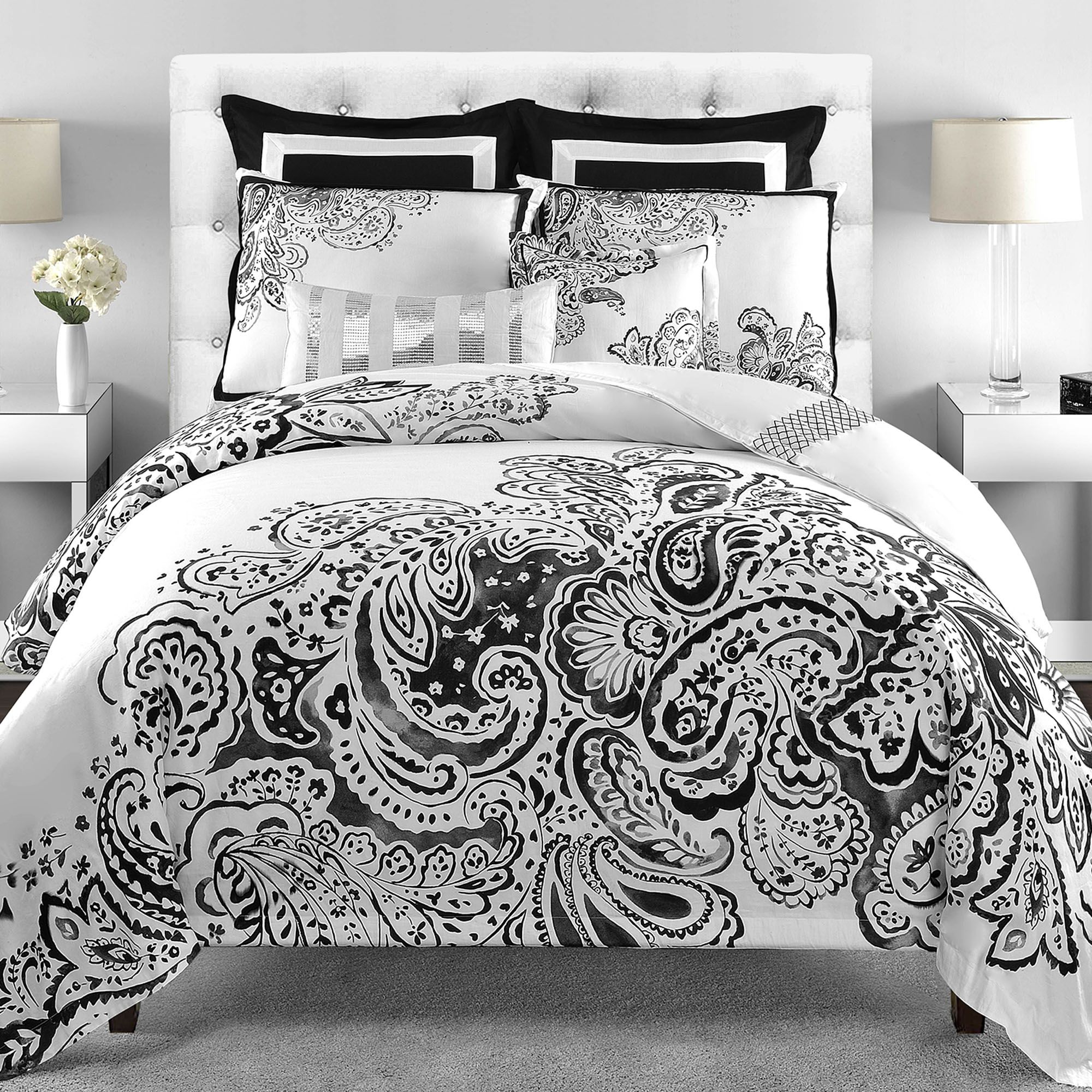 Nice white comforter sets for charming bedroom ideas with white comforter sets queen