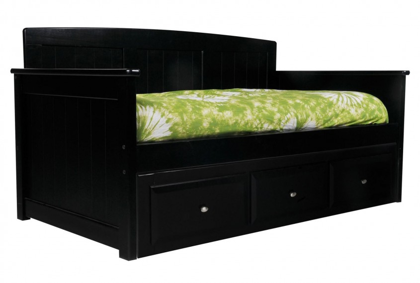 Outstanding Daybed With Storage For Small Bedroom Design With Full Size Daybed With Storage