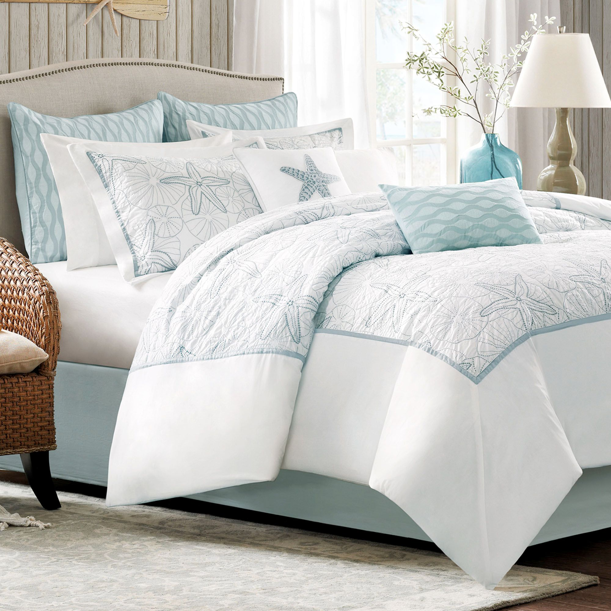 Simple white comforter sets for charming bedroom ideas with white comforter sets queen