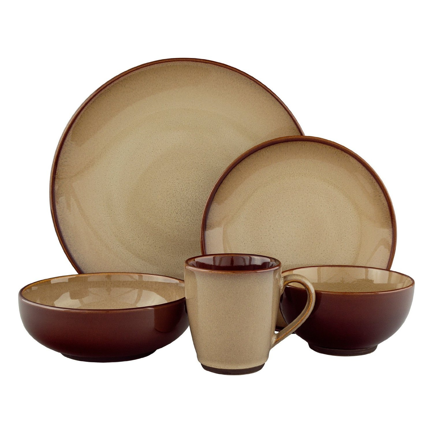 Terrific stoneware dinnerware for kitchen and dining sets with stoneware dinnerware sets