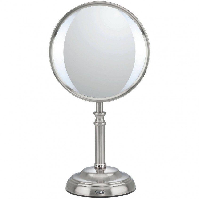 Unique Conair Makeup Mirror For Furniture Accessories Ideas With Conair Double Sided Lighted Makeup Mirror