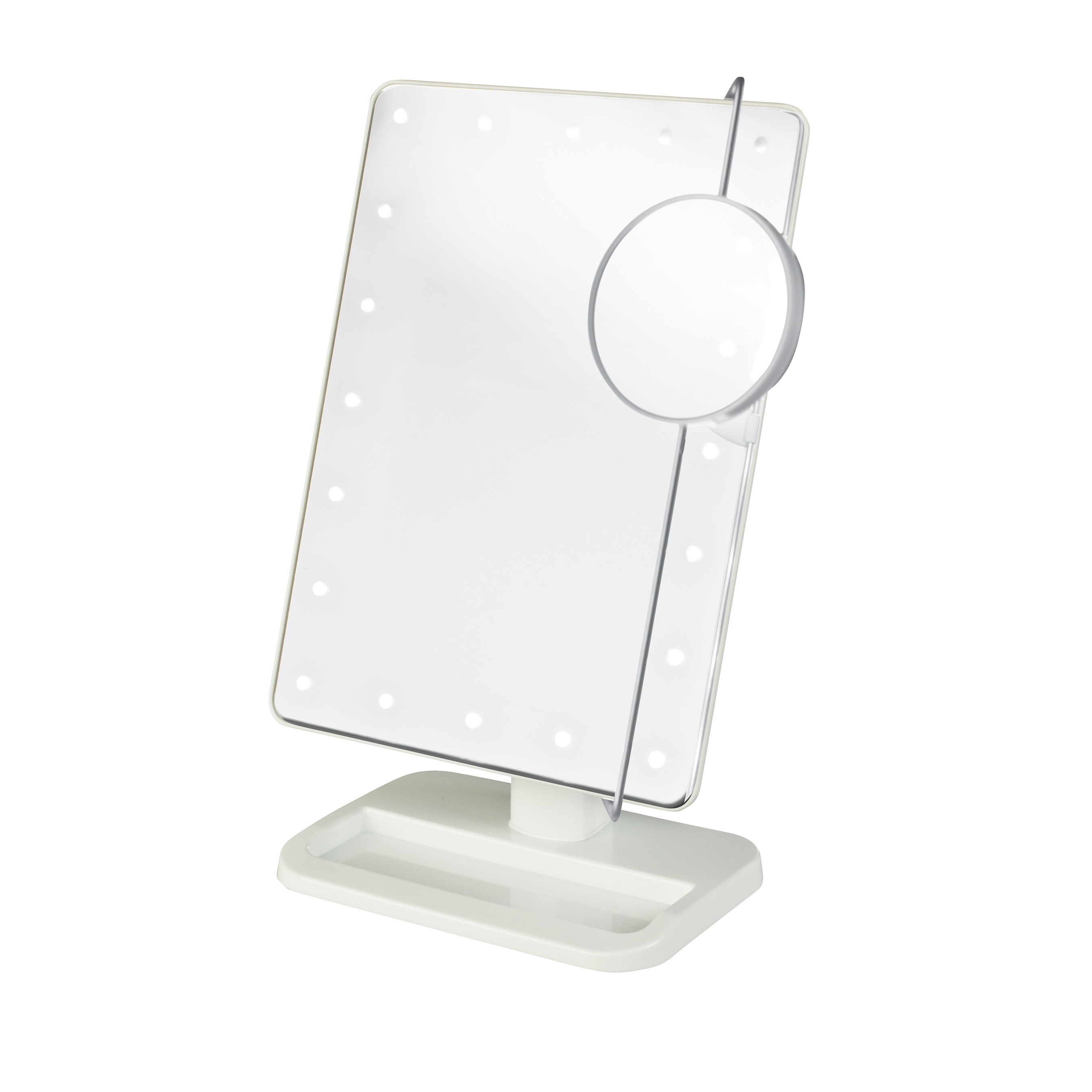 Wonderful conair makeup mirror for furniture accessories ideas with conair double-sided lighted makeup mirror
