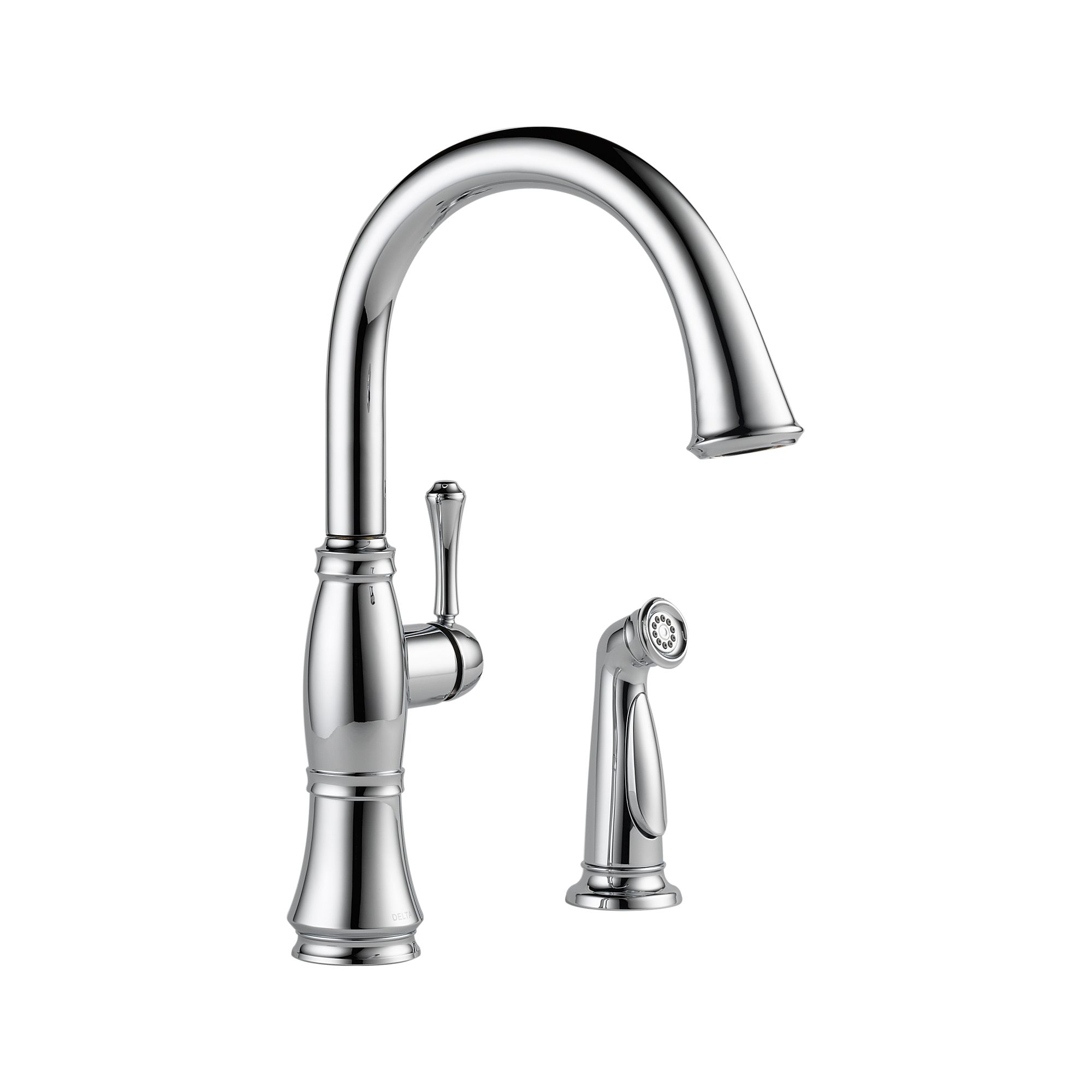 Amazing delta cassidy kitchen faucet for kitchen faucet ideas with delta single handle kitchen faucet with spray