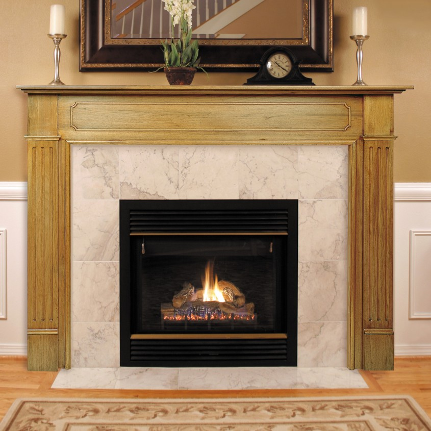 Amazing Fireplace Mantle For Interior Living Room With Electric Fireplace With Mantle