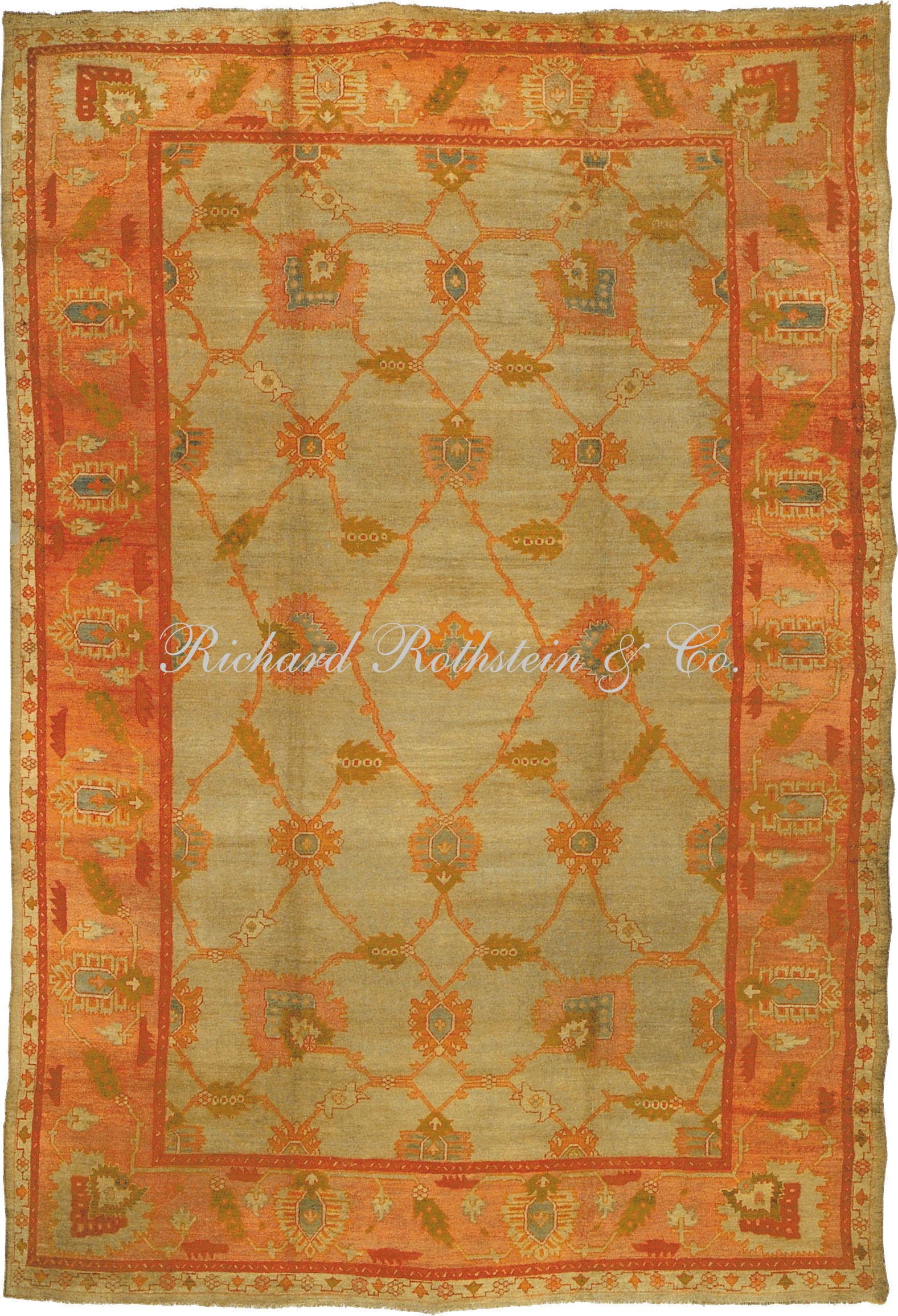 Amazing oushak rugs for floorings and rugs ideas with antique oushak rugs