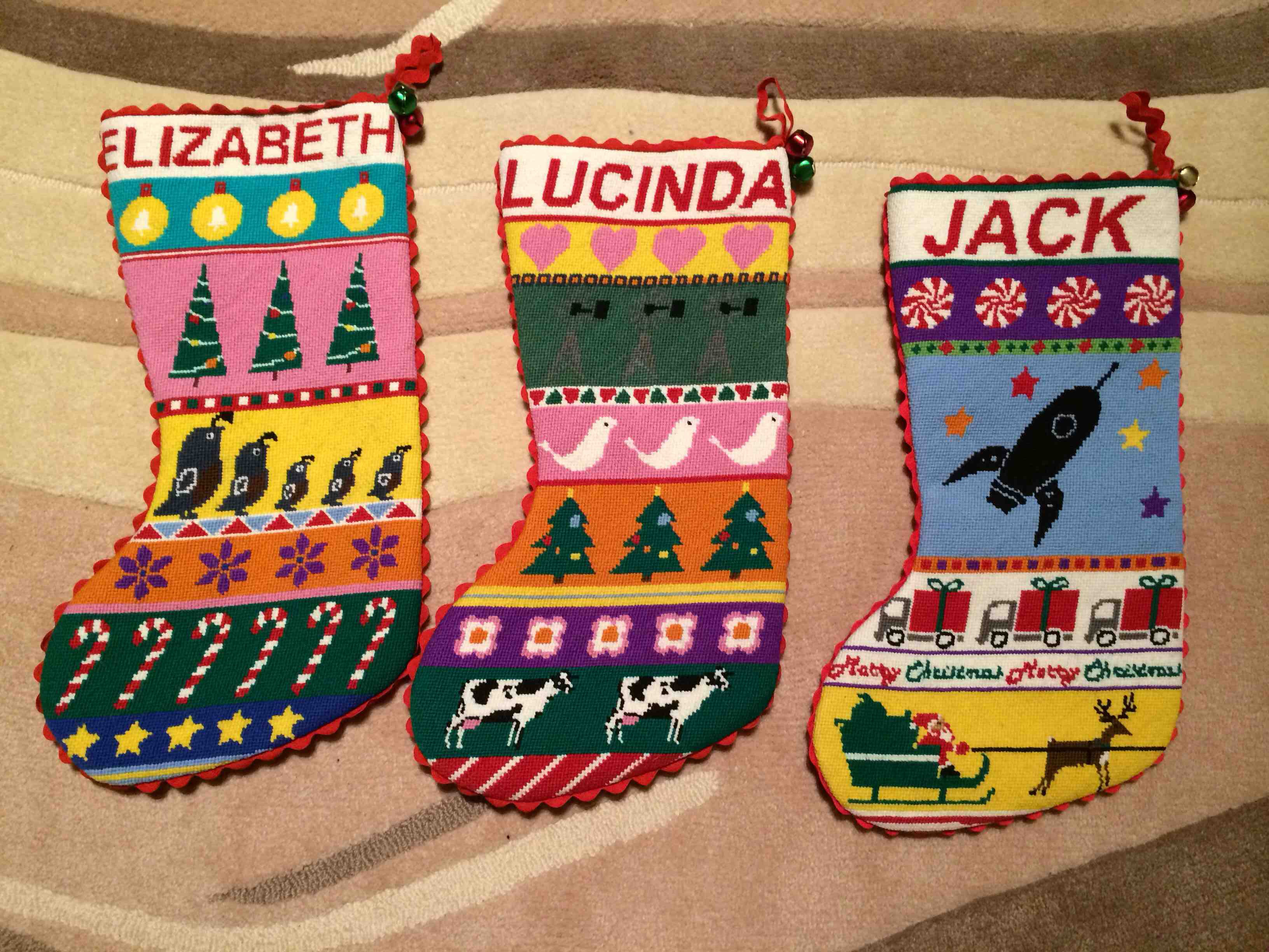 Amazing personalized needlepoint christmas stockings for christmas decorating ideas with needlepoint christmas stockings personalized