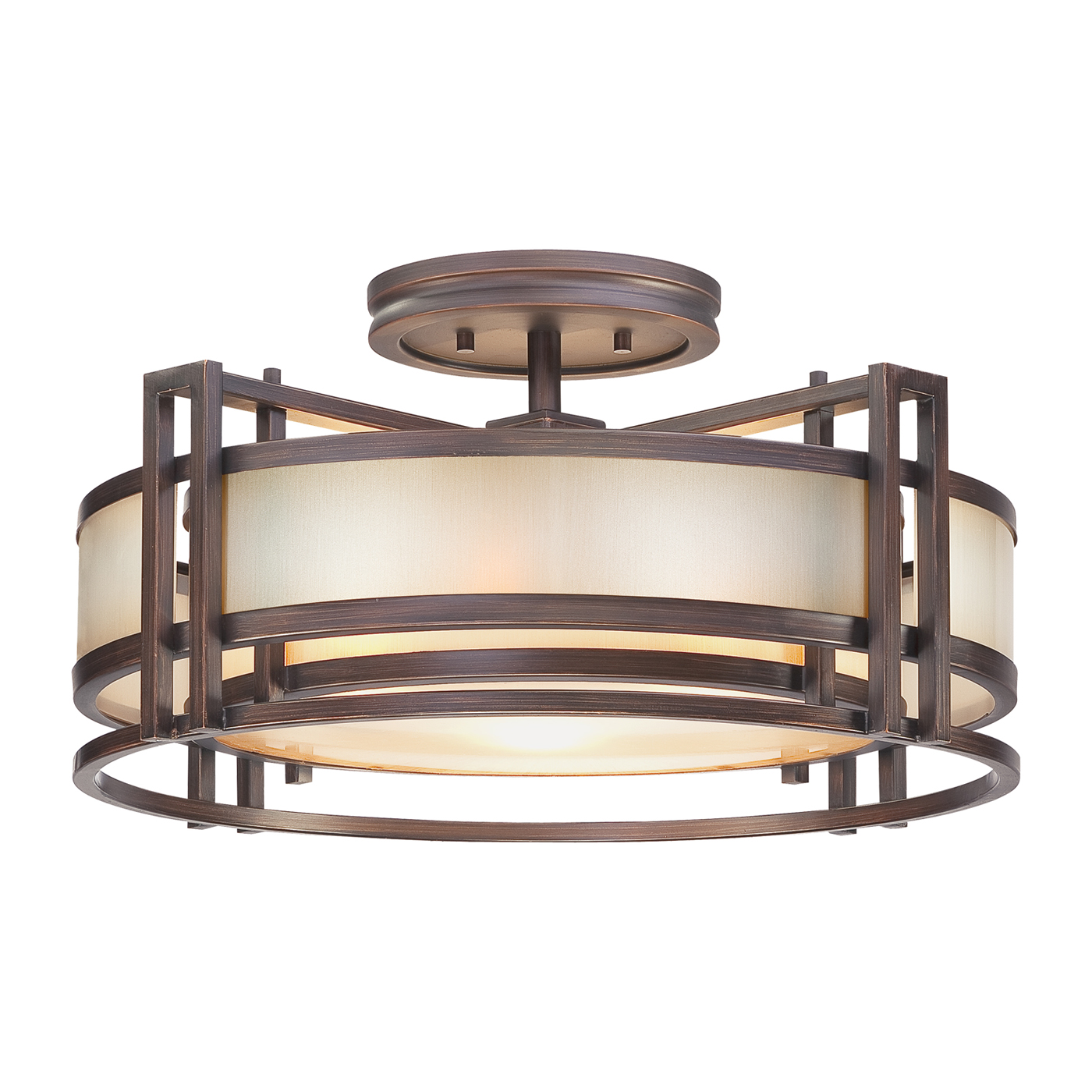 Amazing semi flush ceiling light for home lighting design with brushed nickel semi flush ceiling light