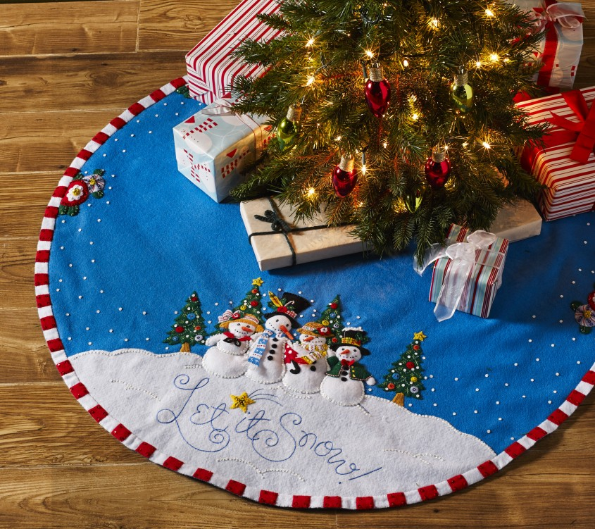 Attractive Christmas Tree Skirts For Christmas Ideas With Christmas Tree Skirt Pattern