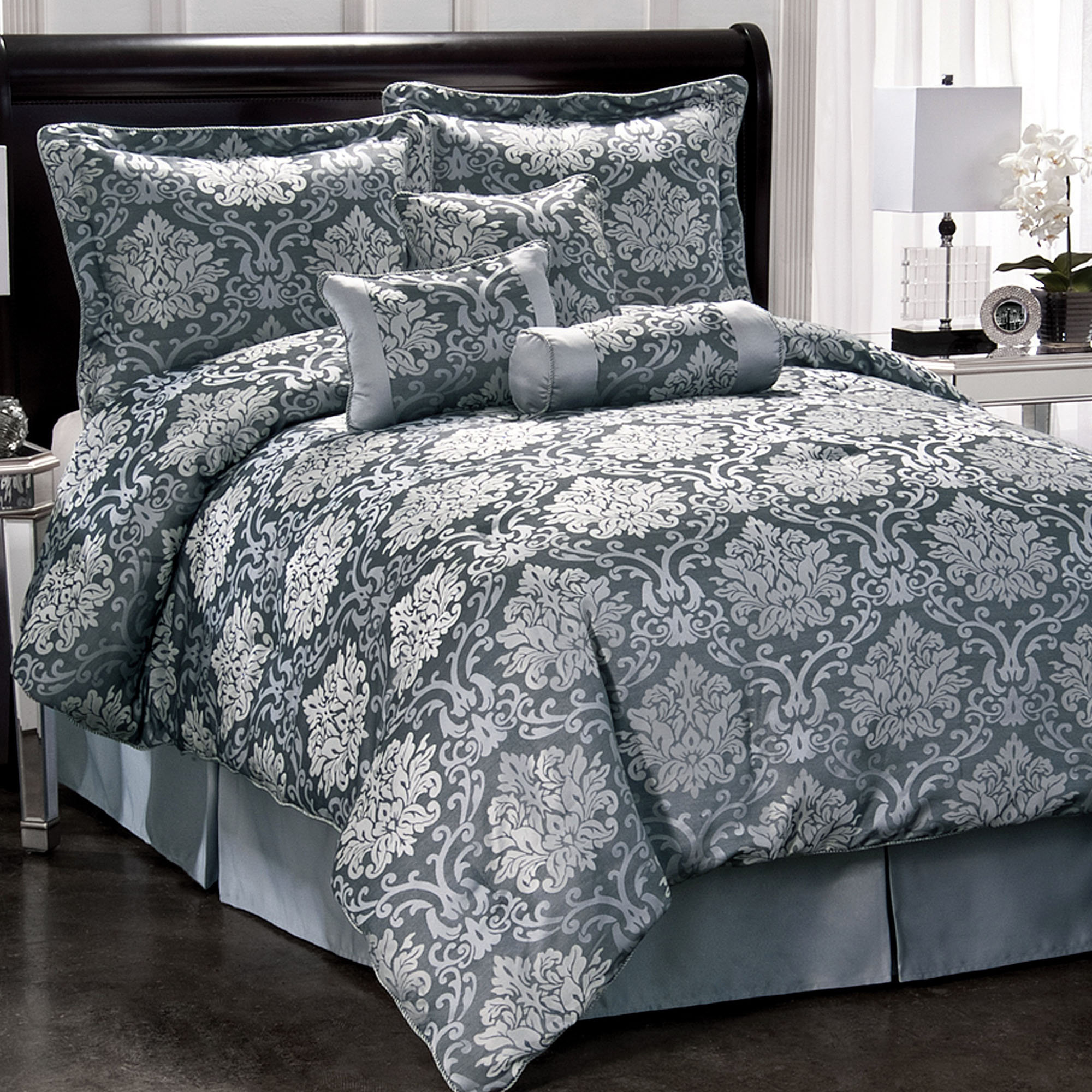 Attractive damask bedding for bed decorating ideas with damask bedding set and damask crib bedding