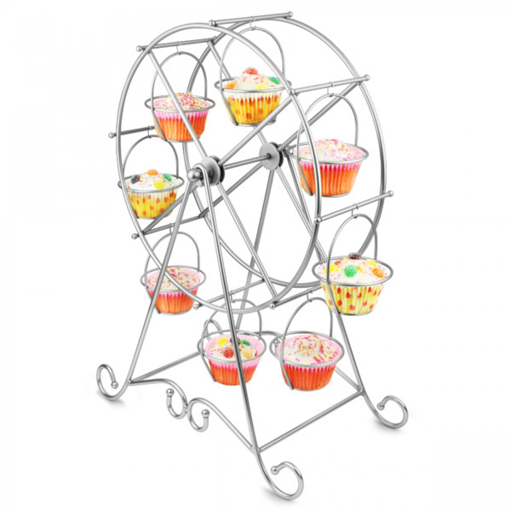 Attractive ferris wheel cupcake holder for carnival party with ferris wheel cupcake stand