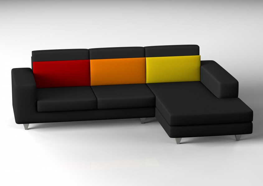 Attractive L Shaped Couch For Home Decoration With L Shaped Couch Covers