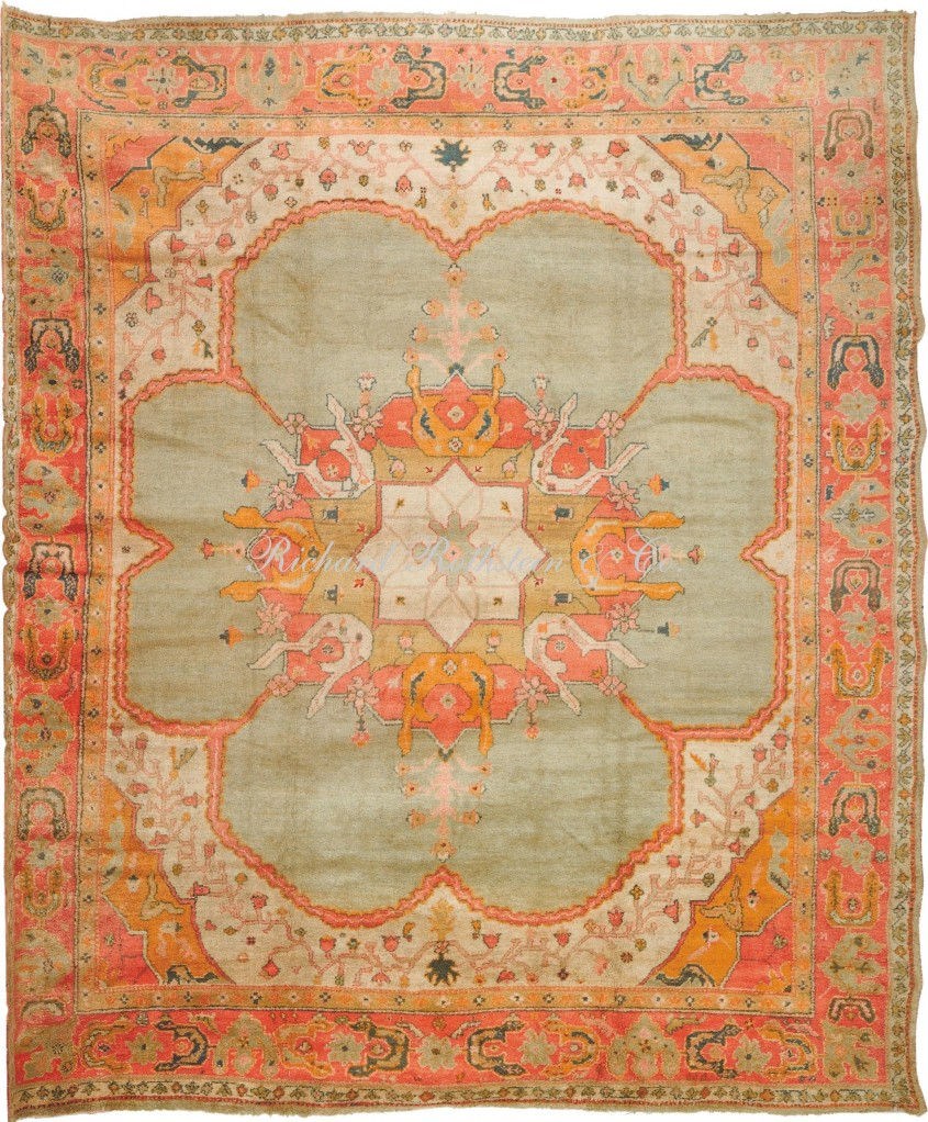 Attractive Oushak Rugs For Floorings And Rugs Ideas With Antique Oushak Rugs