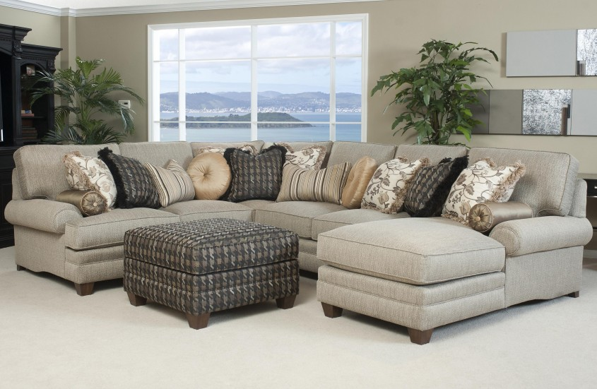 Attractive Sofa Sectionals For Home Interior Design With Leather Sectional Sofa And Sectional Sleeper Sofa
