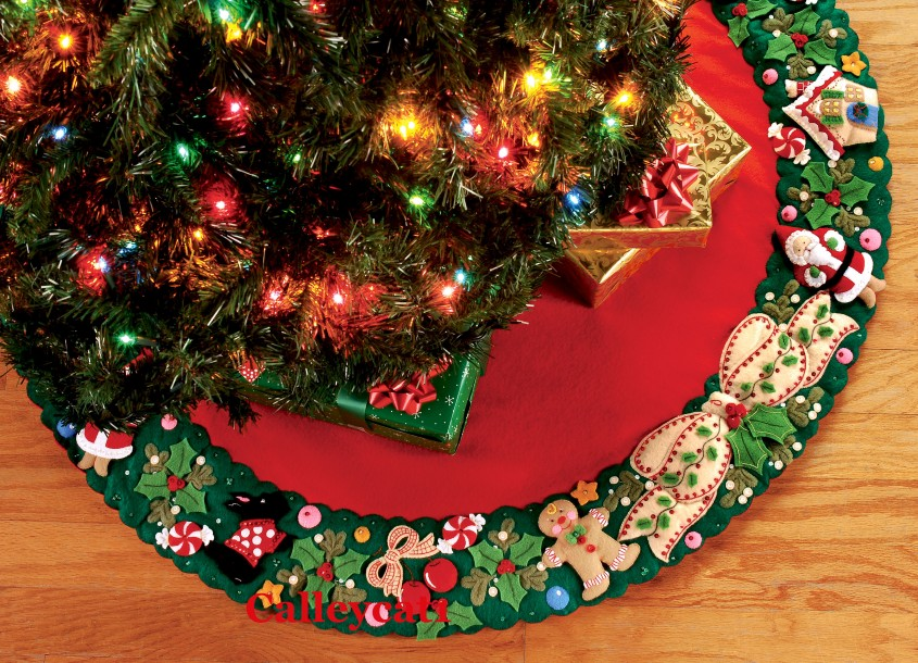 Awesome Christmas Tree Skirts For Christmas Ideas With Christmas Tree Skirt Pattern
