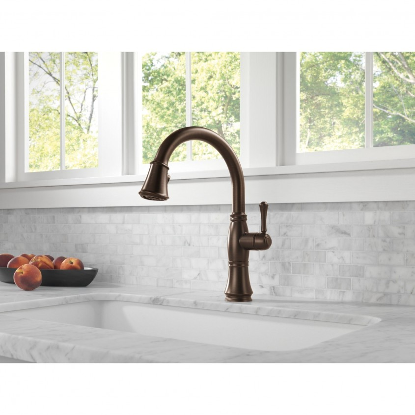 Awesome Delta Cassidy Kitchen Faucet For Kitchen Faucet Ideas With Delta Single Handle Kitchen Faucet With Spray