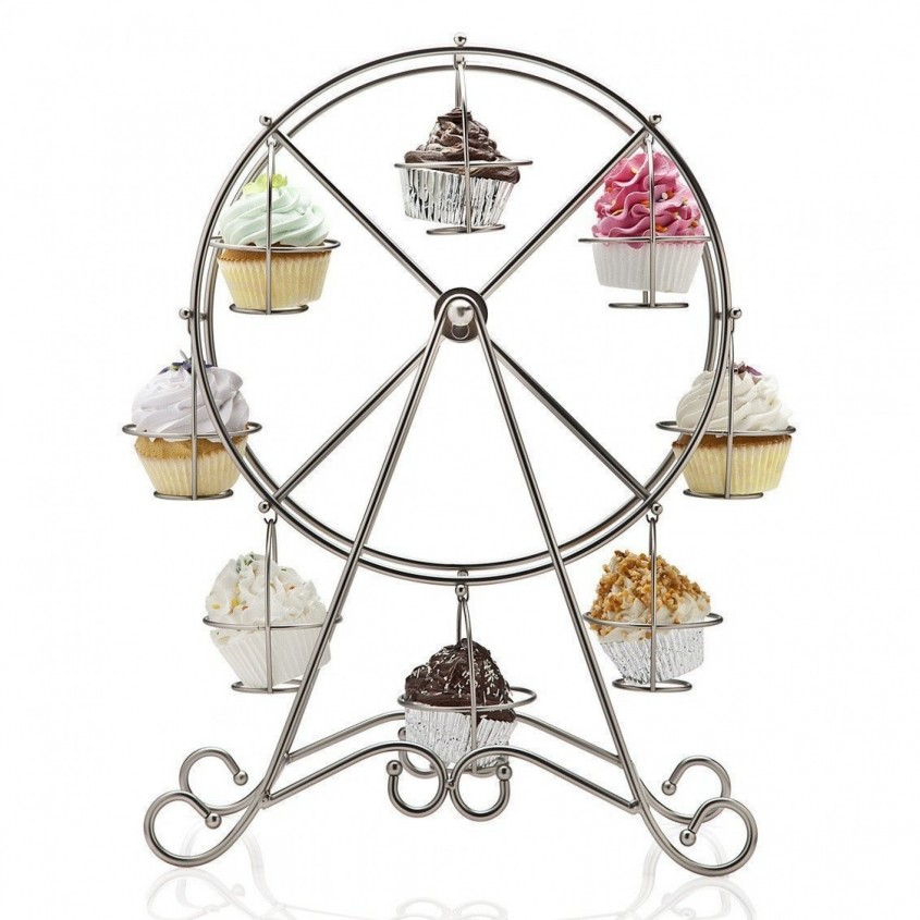 Awesome Ferris Wheel Cupcake Holder For Carnival Party With Ferris Wheel Cupcake Stand