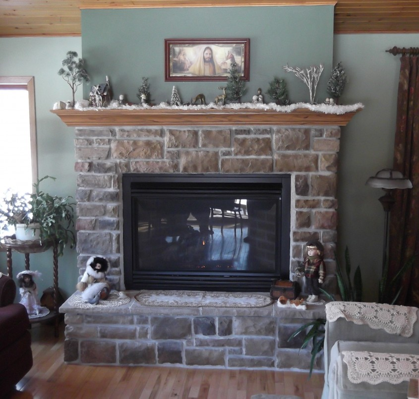 Awesome Fireplace Mantle For Interior Living Room With Electric Fireplace With Mantle