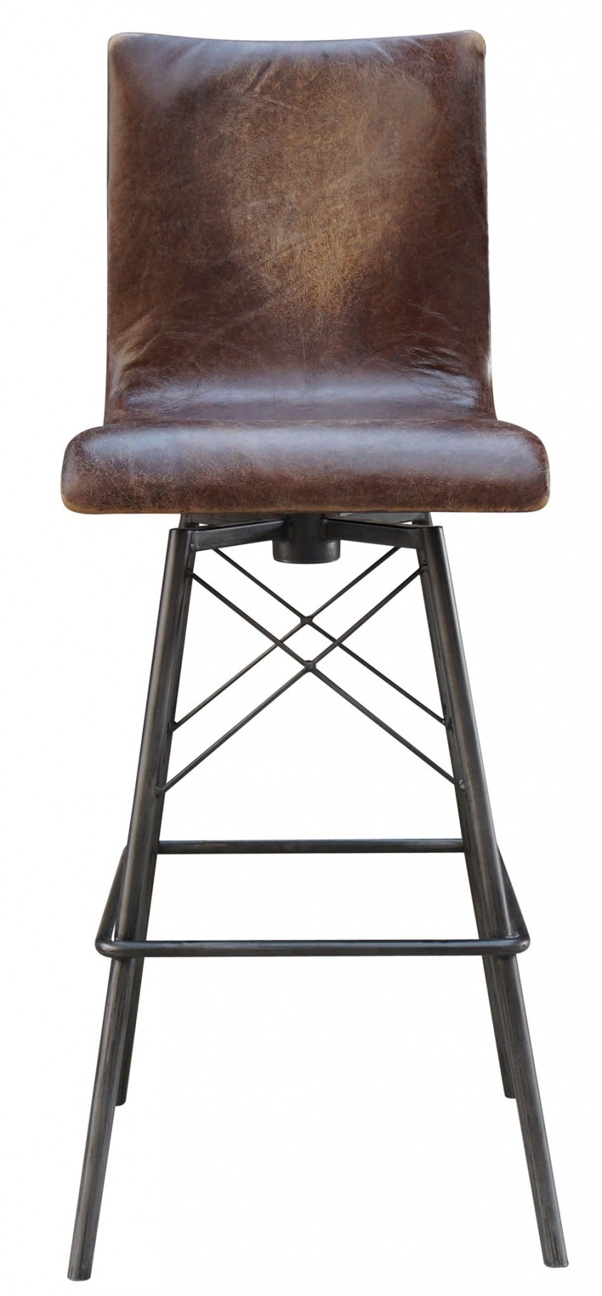 Awesome Leather Bar Stools For Home Furniture With Leather Swivel Bar Stools