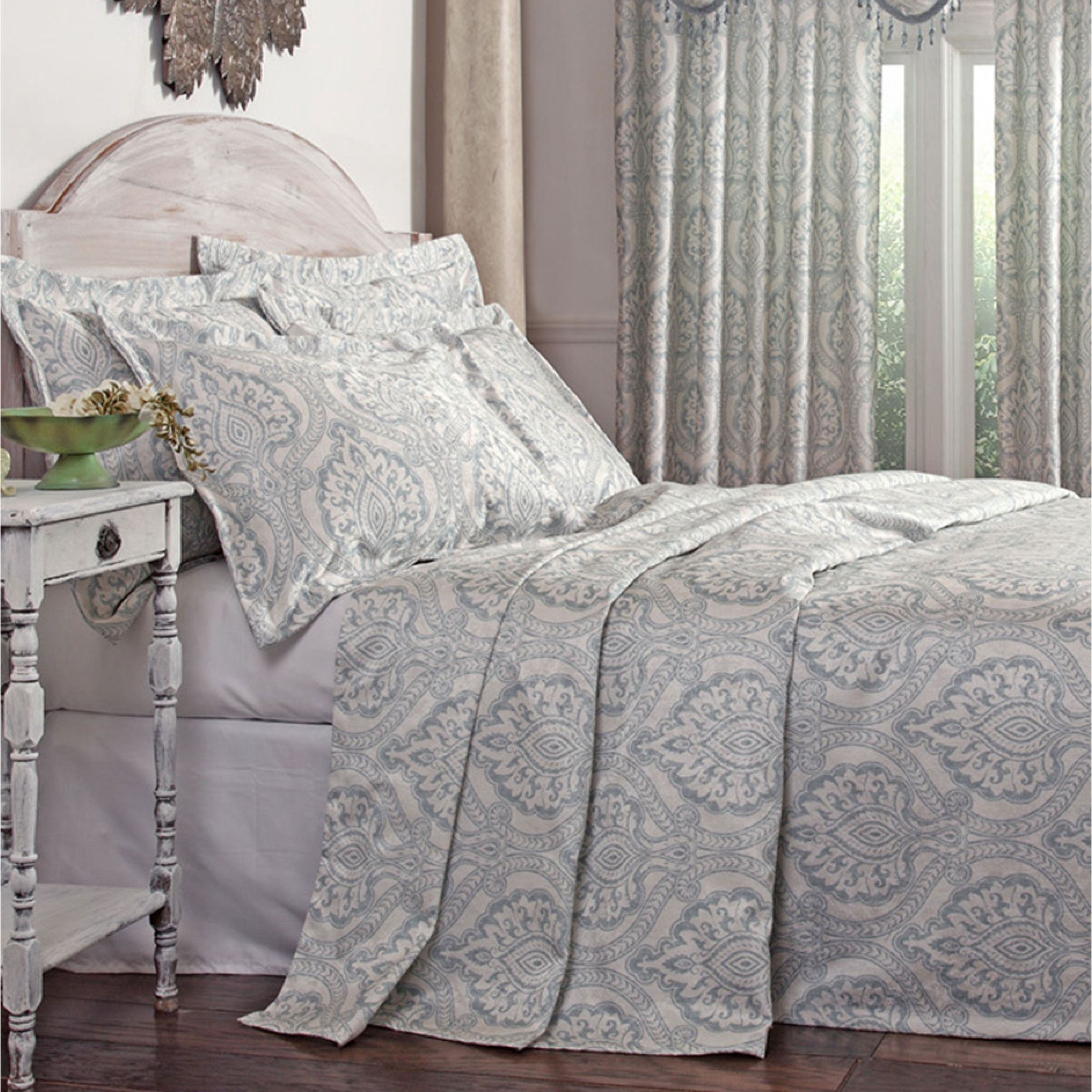 Beautiful damask bedding for bed decorating ideas with damask bedding set and damask crib bedding