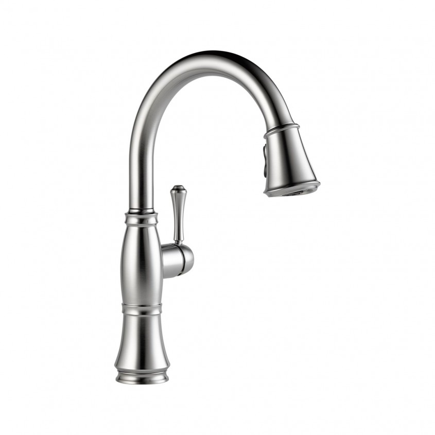Beautiful Delta Cassidy Kitchen Faucet For Kitchen Faucet Ideas With Delta Single Handle Kitchen Faucet With Spray