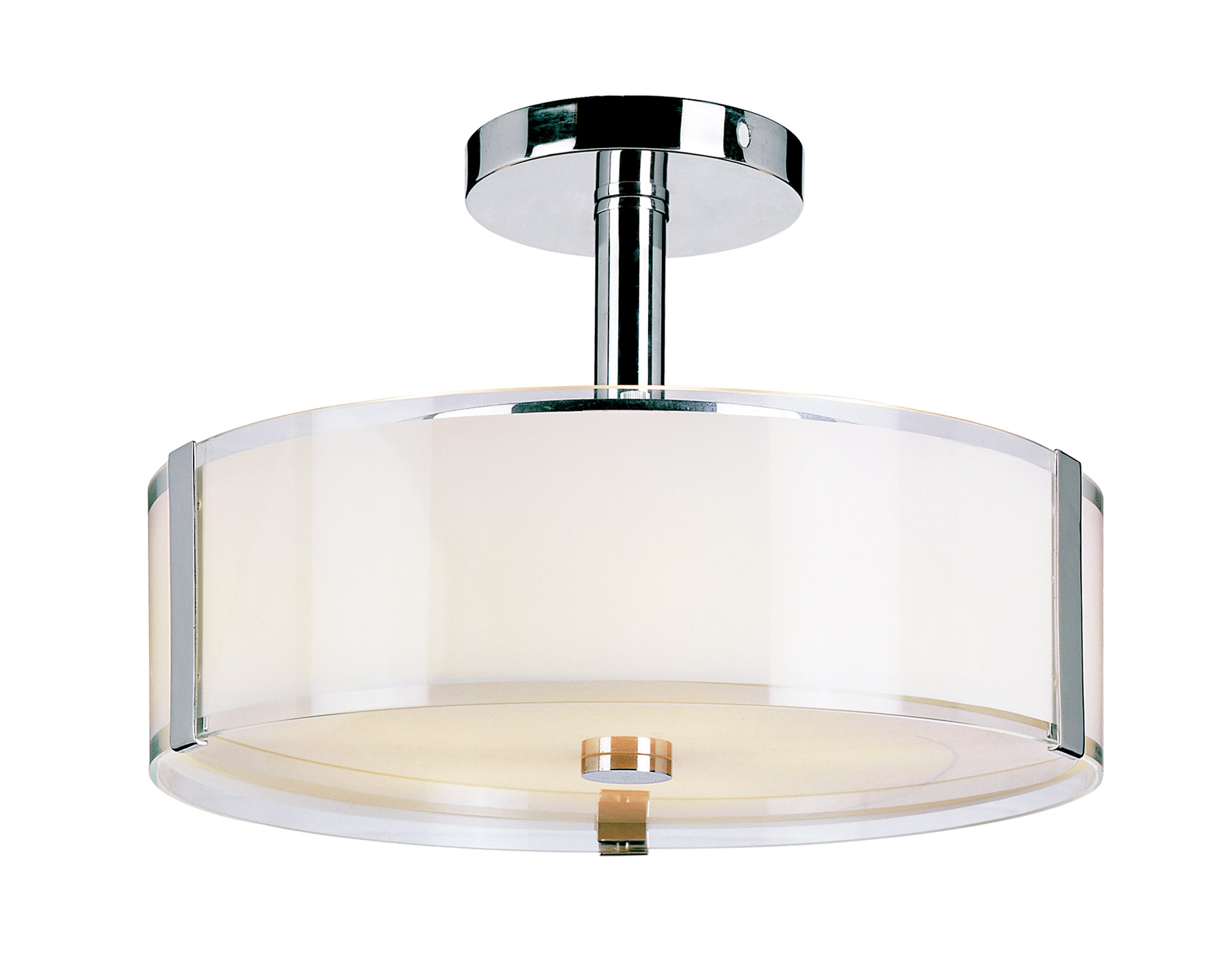 Beautiful semi flush ceiling light for home lighting design with brushed nickel semi flush ceiling light