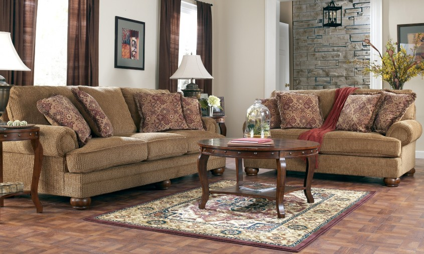 Living Room Design: Beautiful Front Room Furnishings For Living Room ...