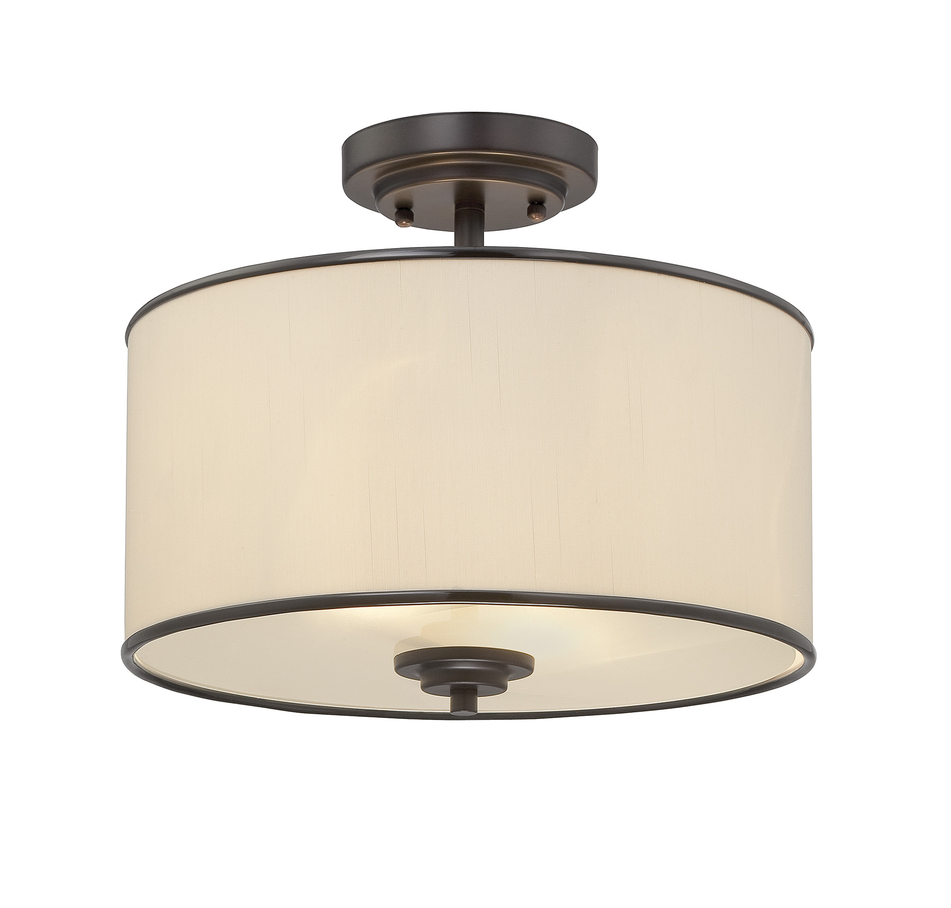 Best semi flush ceiling light for home lighting design with brushed nickel semi flush ceiling light