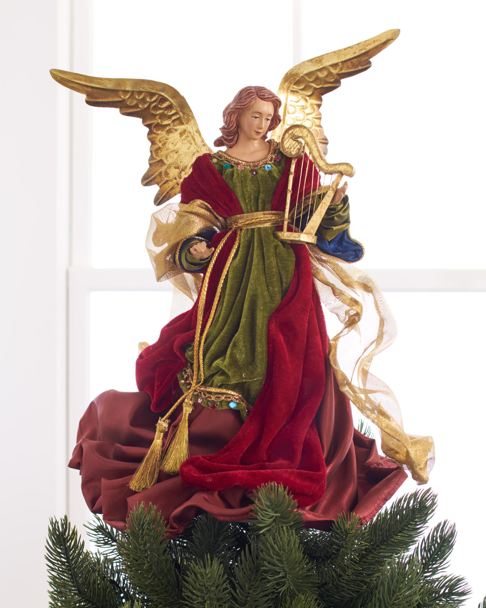 Breathtaking christmas tree topper for christmas decorating ideas with unique christmas tree toppers and angel christmas tree topper