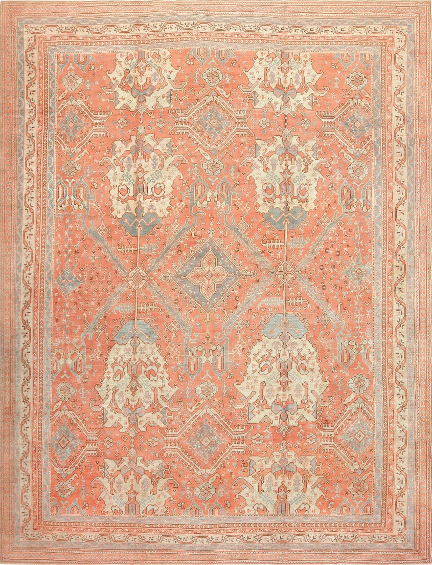 Breathtaking Oushak Rugs For Floorings And Rugs Ideas With Antique Oushak Rugs