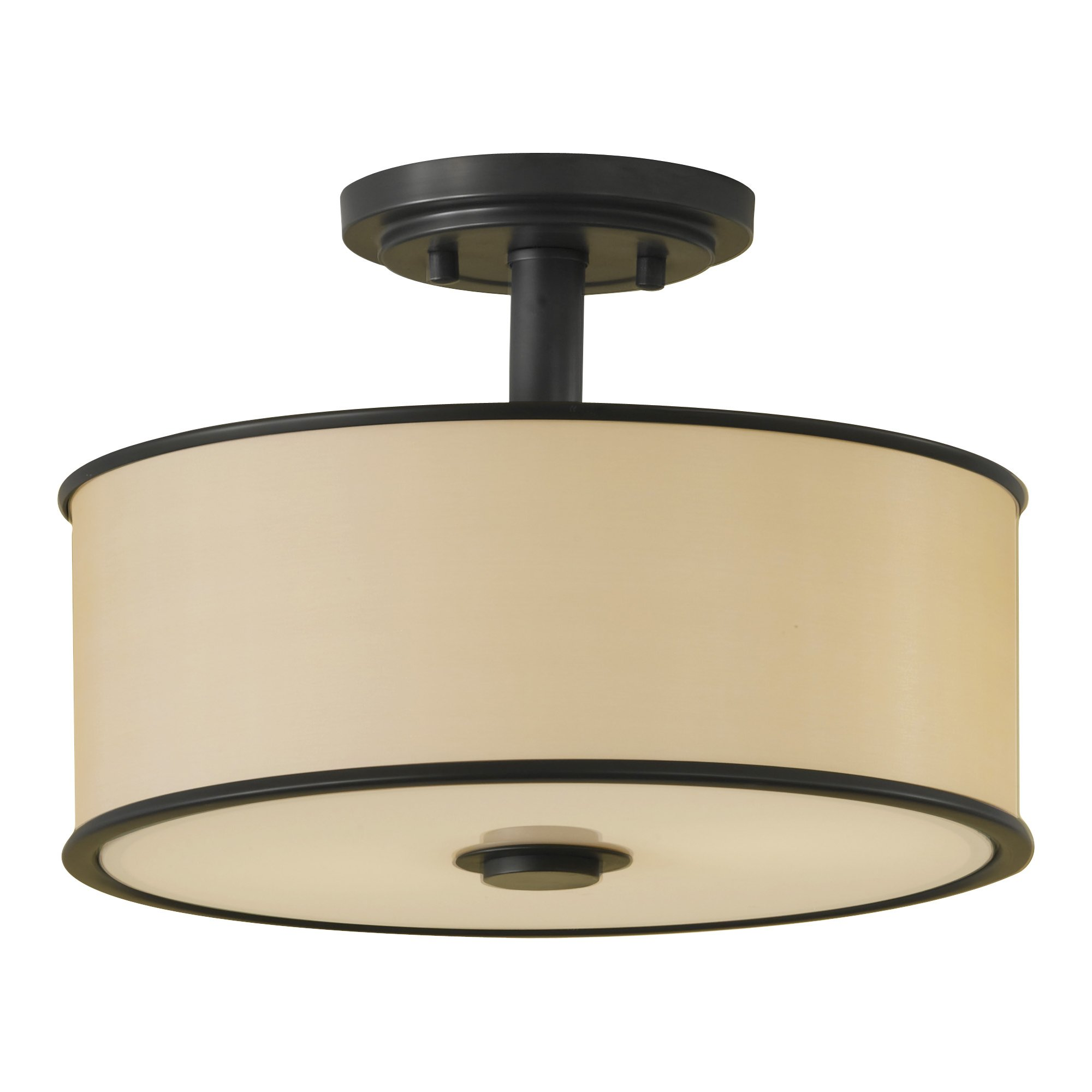 Breathtaking semi flush ceiling light for home lighting design with brushed nickel semi flush ceiling light