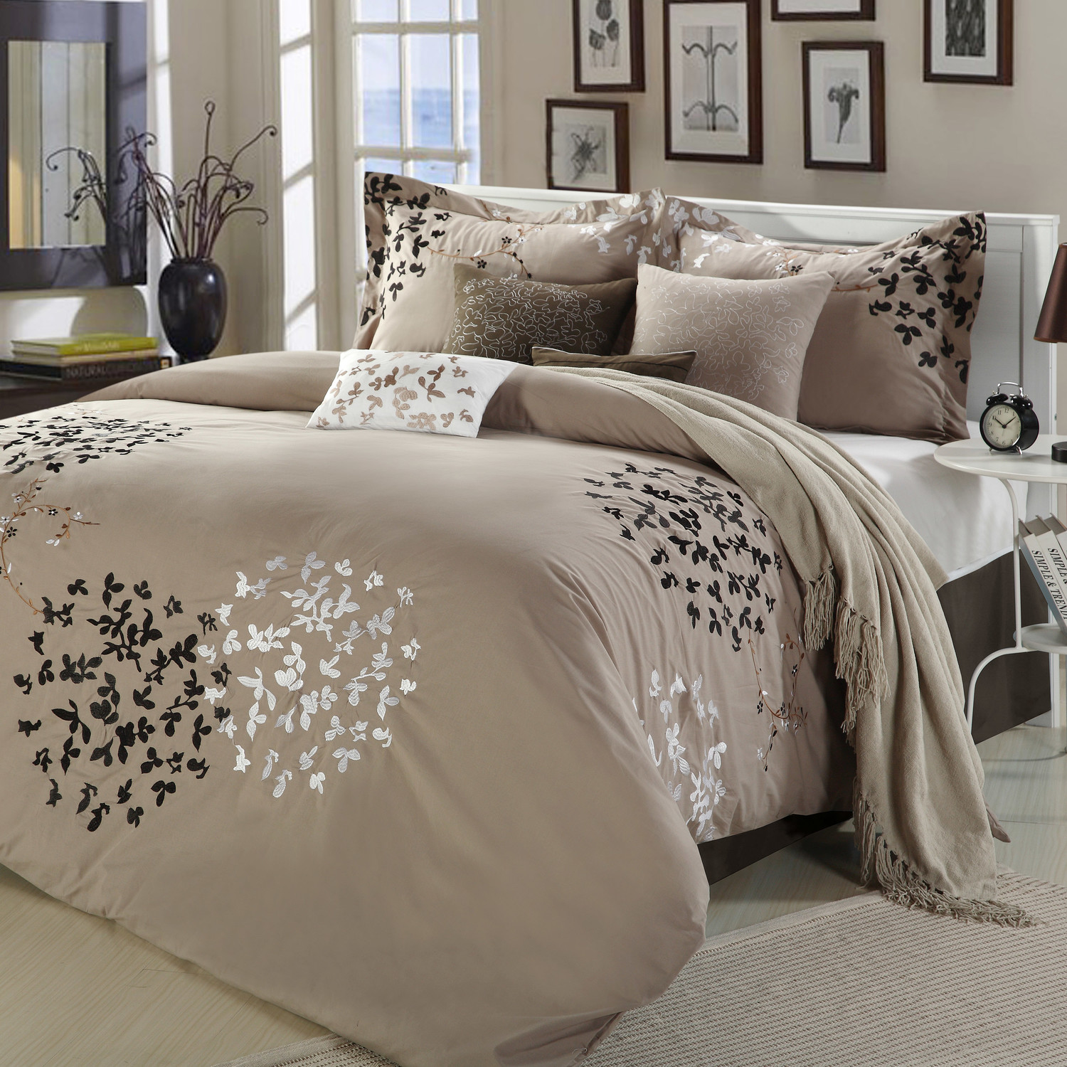 Brilliant comforters sets for bedroom design with queen comforter sets